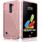 ShockProof Hybrid Dual Layer Armor Case Cover for LG G Stylo 2 / Stylus 2 Plus