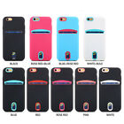 Shockproof Rubber Hybrid Credit Card Protection Case Cover For iPhone7/7Plus TH