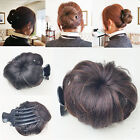 Внешний вид -  Hair Bun Clip Pin in Synthetic Extension Women Girl FashionSolid
