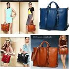 Women Fashion Handbag Lady Shoulder Bag Tote Purse Oiled Leather Women Messenger
