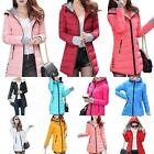 Women Winter Down Cotton Parka Long Fur Collar Hooded Coat Jacket Popular