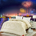 Winter Camel Wool Quilt Luxury Thicken Stitching Comforter Duvet Blanket