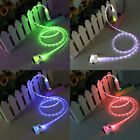 3 in1 LED Light-up USB Charger Data Chrging Cable For iPhone 4S 5S 6 7+ Samsung