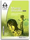 FLY Fusion Music Studio Pro- Compose, Record and Mix Music, Model# 8482, GC