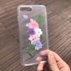 Handmade Real Dried Pressed Flower case for iPhone 6 6s plus 7 7plus RPG