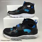 NIKE TRAINER HUARACHE GS GRADE SCHOOL BOYS KIDS CHILDRENS BLACK BLUE RRP £90