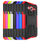 Hybrid Dual Layer Armor Kickstand Phone Cover Case For Samsung Galaxy Amp Prime