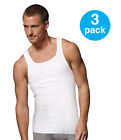 BEST OFFER! Men's Tank Top 3 PACK: Athletic A-shirt/Wife Beater/100% Cotton