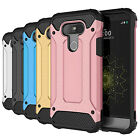 Hybrid Armor Dual layer Shockproof Protective Phone Cover Case For LG G5