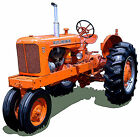 Allis Chalmers Model WD45 canvas art print Allis-Chalmers WD-45 Richard Browne