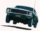 Ford 1968 Bullitt Mustang  canvas art print by Richard Browne
