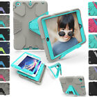 Heavy Duty Shockproof Bracket Hard Rugged Back Case Cover For iPad 2 3 4 Tablet