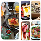 3D Delicious Food Print Case Cover for iPhone 7 7 Plus Samsung Galaxy Dazzling