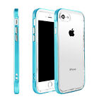 Hybrid Clear Back Shockproof TPU Case Cover for Apple iPhone 5 6 6s 7 Plus