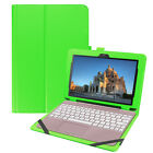 """Slim Leather Folio Case Keyboard Cover For Asus Transformer BooK T101HA 10.1"""""""
