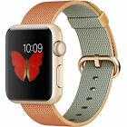 Apple Watch Sport 38MM 42MM Aluminum Case Sport Band Woven Band All Colors USED