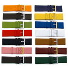 Fine Calf Leather Watch Strap Band 14 Colours! 22mm 24mm 26mm 28mm 30mm image