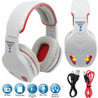 Wireless Bluetooth 4.1 Stereo Headphone Headset Built MIC FM TF Card Headphones