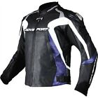 AGV Sport Photon Vented Leather Jacket Motorcycle Jacket