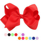 Newly Alligator Clips Handmade Big Bow Hair Clip Girls Kids Sides Accessories