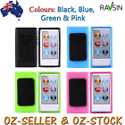 Apple Ipod Nano 8 7th Gen TPU Case & Clip Soft Gel Skin Cover + Screen Protector