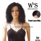 40CM Lace Front Wig Natural Brazilian Synthetic Long Wavy Lob Full Wig Beauty US