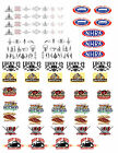 1:18 LARGE DECALS FOR DIECAST AND MODEL CAR DIORAMAS PINSTRIPES