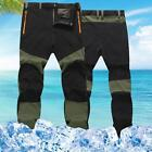 Casual Thin Mens Outdoor Sports Snowboard Pants Waterproof Hiking Trousers Hot