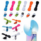 New Mini Electric Fan Portable Cell Phone Cooling Cooler For Android Smart Phone