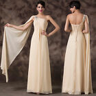 Crazy Sale Long Chiffon Prom Dress Formal Party Prom Cocktail Evening Dresses