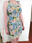 Quirky 50s look Desigual summer dress button up front szs XS to XXL 8 to 18