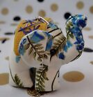Key Chain Cute Thai Elephant Style Patchwork 2 Inches Mix Colours Gift