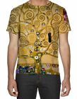 Gustav Klimt Tree of Life All Over Print 3D Men's T-Shirt - Small to 3XL