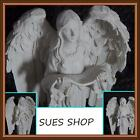 HOLY GUARDIAN ANGEL STATUE FIGURINE ORNAMENT MEMORIAL DOVE SCRIPTURE PRAY