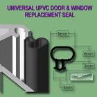 Universal Black Seal Upvc Door Window Double Glazing Replacement Rubber Gasket
