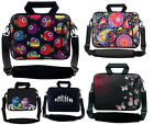 "10"" - 17"" Inches Design Laptop Notebook Soft Case Bag With Shoulder Strap #1"