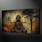 BUDDHA RELIGIOUS PAINTING STYLE CANVAS WALL ART PRINT PICTURE READY TO HANG
