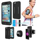 Silicone Protective Case Running Jogging Gym Armband Holster Cover for iPhone