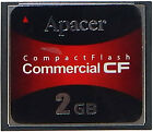 Apacer 2GB CompactFlash Commercial CF 81.2H010.4B12C