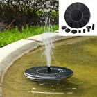 Outdoor Solar Powered Bird Bath Water Fountain Pump For Pool, Garden, Aquarium cheap