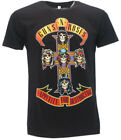"T-Shirt Hard Rock Guns N' Roses ""Appetite for Destruction"""