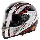 New - G-Mac Blaze ECE ACU Approved Motorcycle Helmet With Internal Sun Visor - W