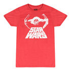 Star Wars Bad Figther Men's Red T-shirt $12.99 USD