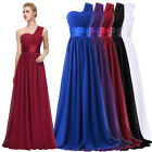 Long Chiffon Bridesmaid Wedding Dress Cocktail Evening Gown Prom Formal Dresses