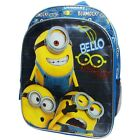 "DESPICABLE ME MINION Universal 16"" Full Size Multi-Pocket School Backpack  $30"