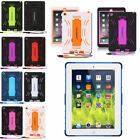 Shockproof Tank Shell Anti-Slip Case Cover For iPad 2 3 4 5 6 Ipad Air /Mini