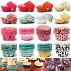 TS KIT CUPS PAPIER BACKPAPIER CUPCAKE CASES FÜR FORMEN TORTE MUFFIN FARBEN