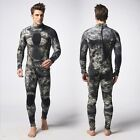 New Green Gray 3MM Camouflage Camo Wetsuit SCUBA Skin Free Diving Spear Fishing