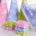 25*25cm Cotton Square Towel Absorbent Towel Dry Hand Face Towels for Kids