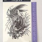 Tattoos Temporary Waterproof Fake Dragon Devil Owl Woman Arm Body Art Transfer